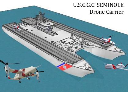 USCGC Seminole Drone Carrier