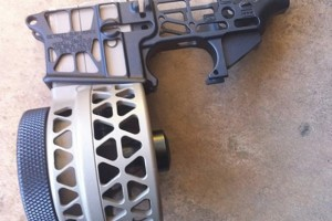 X-Products Skeletonized AR Lower